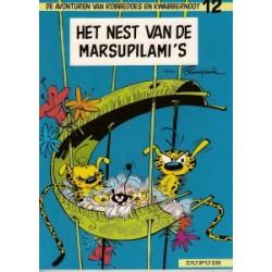 Robbedoes 12 Het nest van de Marsupilami's herdruk 1971