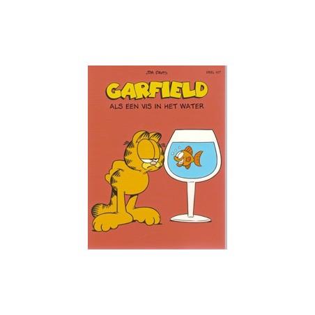 Garfield  107 Als een vis in het water