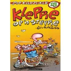 Joop Klepzeiker 18 Kleppie op 'n steppie 1e druk 2003