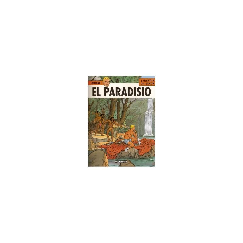Lefranc 15 El Paradisio 1e druk 2002