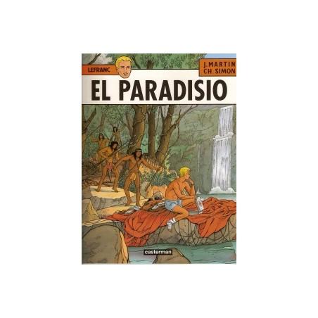 Lefranc<br>15 El Paradisio<br>1e druk 2002