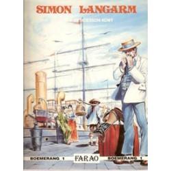 Simon Langarm 01 Als de moesson komt 1e druk 1989