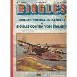 Biggles Heritage set deel 1 t/m 4 1e drukken 2002-2006