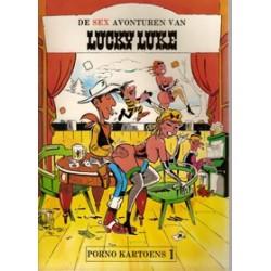 Lucky Luke sexparodie set deel 1 & 2 herdrukken 1981-1982