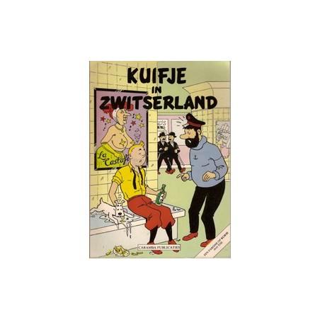 Kuifje<br>parodie Kuif in Zwitserland<br>5e versie herdruk 1981