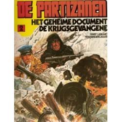 Partizanen 02<br>Het geheime document<br>herdruk