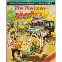 Suske & Wiske parodie De keizer-kraker herdruk 1982