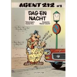 Agent 212<br>01 Dag en Nacht<br>herdruk 1981<br>oorspr. omslag