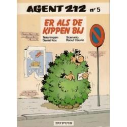 Agent 212<br>05 Er als de kippen bij<br>1e druk 1985