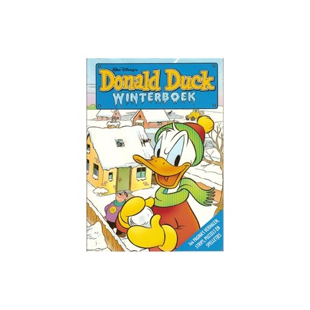 Donald Duck winterboek 2007/08 1e druk 2007