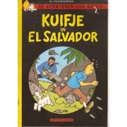 Kuifje parodie Kuifje in El Salvador 1e druk 1983