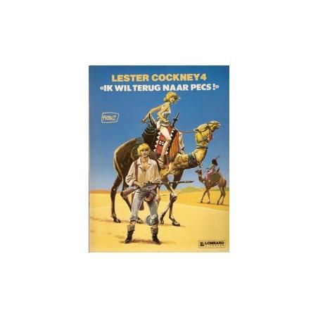 Lester Cockney 04 Ik wil terug naar Pecs! 1e druk 1985