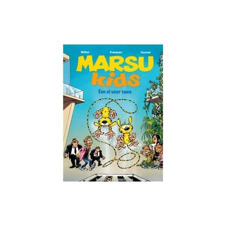 Marsu Kids set deel 1 & 2 1e drukken 2011-2013 (Marsupilami)