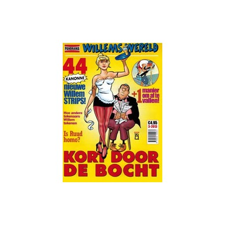 Willems wereld  14 Kort door de bocht