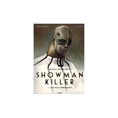 Showman killer 01 Een held zonder hart dossier-editie