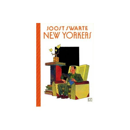 Swarte  kaartset New Yorkers 12 ansichtkaarten in envelop