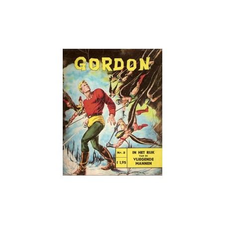 Flash Gordon N02% In het rijk v/d vliegende mannen 1e druk