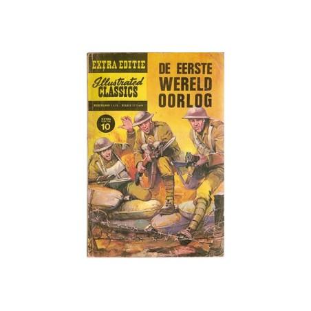 Illustrated Classics Extra Editie 10% De eerste wereldoorlog 1e druk 1964