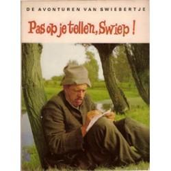 Swiebertje Pas op je tellen, Swiep! 1e druk 1968
