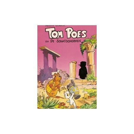 Tom Poes Ballonstrip 01 De schatscherven 1e druk 1974 (Heer Bommel)