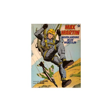 Max Martin 01 Noodlanding in de woestijn 1e druk 1980