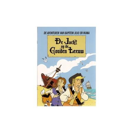 Kapitein Jojo en Numa<br>De jacht op de Gouden Leeuw<br>1e druk