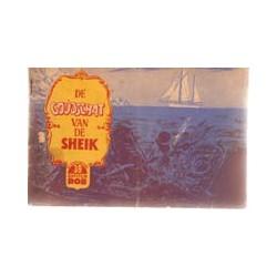 Kapitein Rob<br>39# De goudschat van de sheik<br>1e druk 1957