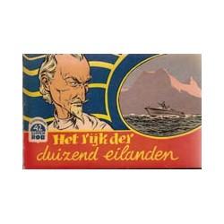 Kapitein Rob<br>42 Het rijk der duizend eilanden<br>1e druk 1958