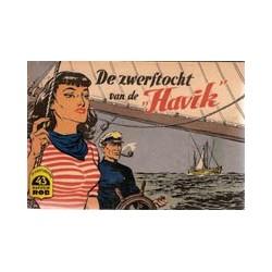 Kapitein Rob<br>43 De zwerftocht van de 'Havik'<br>1e druk 1958