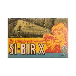 Kapitein Rob<br>50 De schipbreuk van de SI-BIR X<br>1e druk 1960