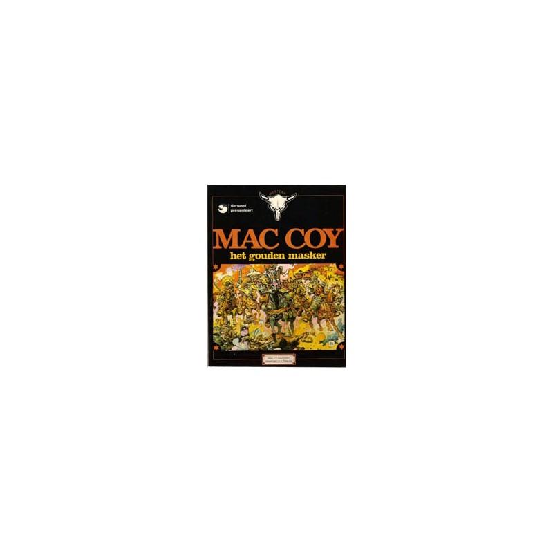 Mac Coy 03 Het gouden masker 1e druk 1980