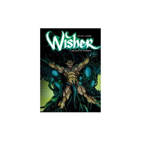 Wisher set deel 1 t/m 4 1e drukken 2008-2013