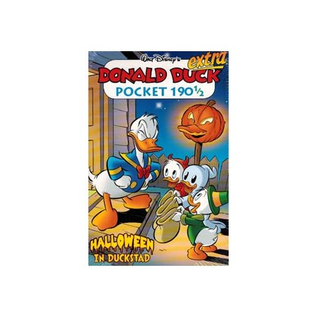 Donald Duck pocket 190 1/2 Halloween in Duckstad 1e druk