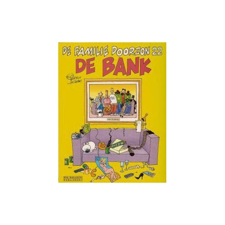 Familie Doorzon  22 De bank