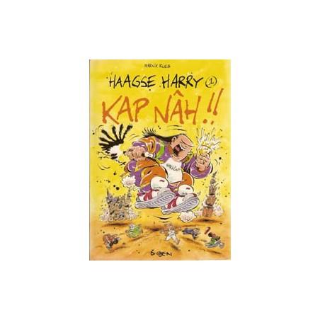 Haagse Harry 01 Kap Nâh!! herdruk Uitgeverij Kap Nâh!!