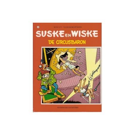Suske & Wiske  Oorspronkelijk omslag* 081 De circusbaron
