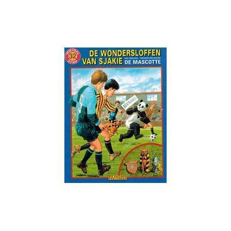 Wondersloffen van Sjakie 32 De mascotte 1e druk 2000