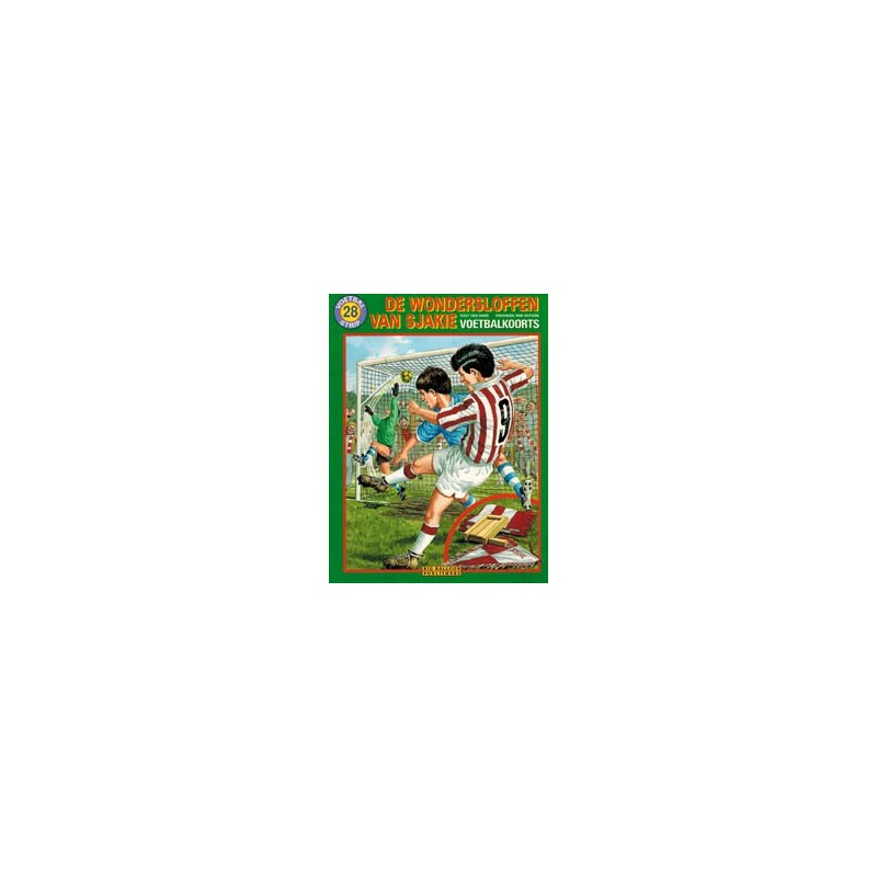 Wondersloffen van Sjakie 28 Voetbalkoorts 1e druk 1998