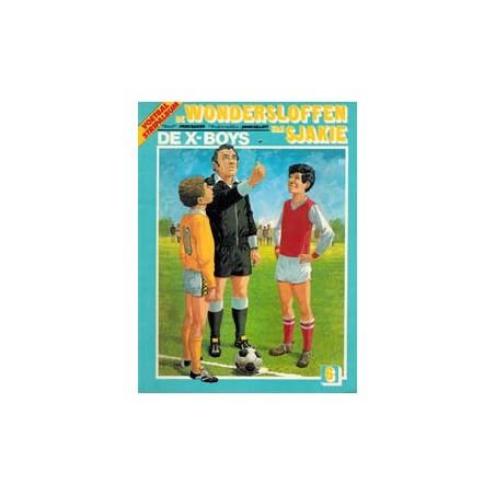 Wondersloffen van Sjakie 06% De X-Boys 1e druk 1982