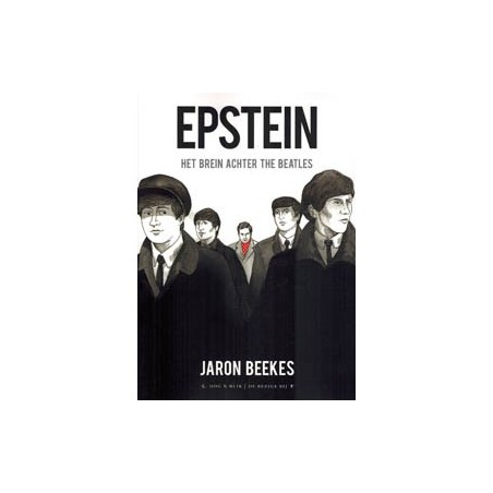 Beatles  strips Epstein Het brein achter the Beatles