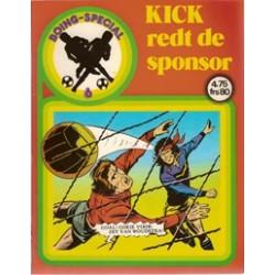 Boing special 06 Kick redt de sponsor 1e druk 1985
