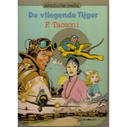 Avonturier-reeks 06 De vliegende Tijger HC 1e druk 1981