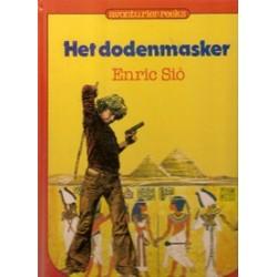 Avonturier-reeks 13 Het dodenmasker HC 1e druk 1982