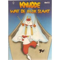 FC Knudde 11 Knudde wat de klok slaat 1e druk 1983