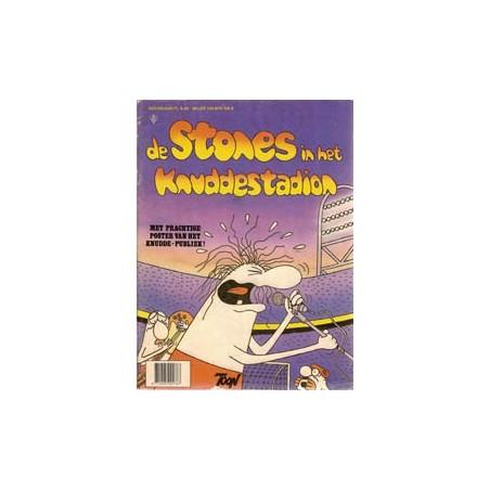 FC Knudde magazine 04 Stones in Knuddestadion 1e druk 1981