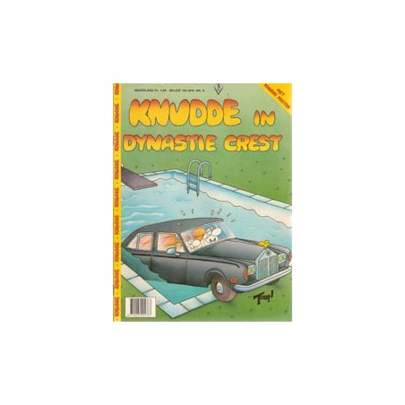 FC Knudde magazine 09 In Dynastie Crest 1e druk 1984