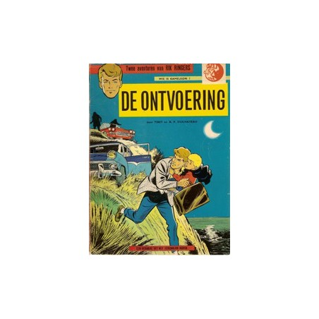 Rik Ringers<br>01 De ontvoering<br>herdruk ca. 1974