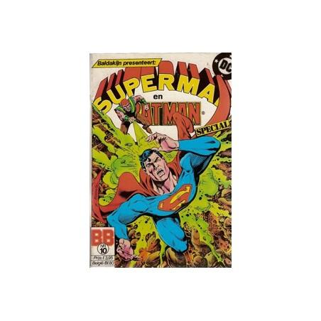 Superman en Batman Special 10 Klojos zijn niet okay 1986