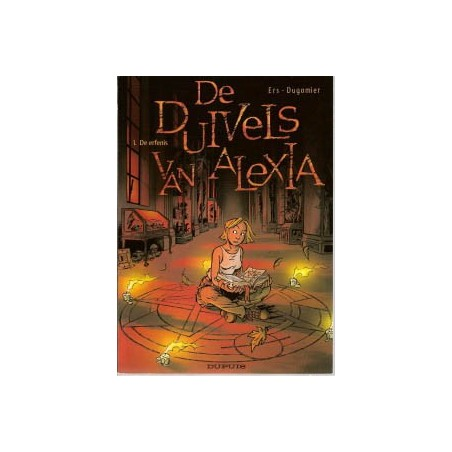 Duivels van Alexia set deel 1 t/m 4 1e drukken 2004-2007