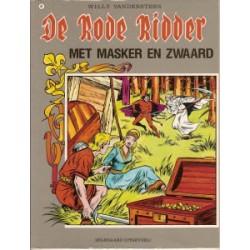 Rode Ridder 049 Met masker en zwaard